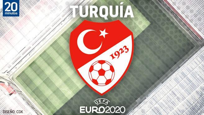 Equipo de Turquía para la Eurocopa.