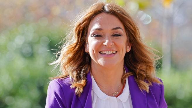 La presentadora Toñi Moreno.