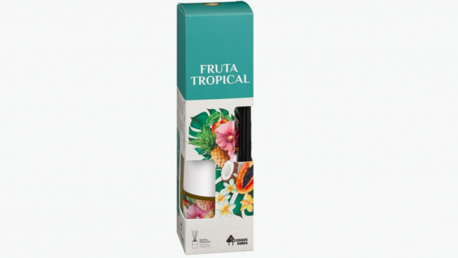 Ambientador varitas Fruta Tropical Bosque Verde