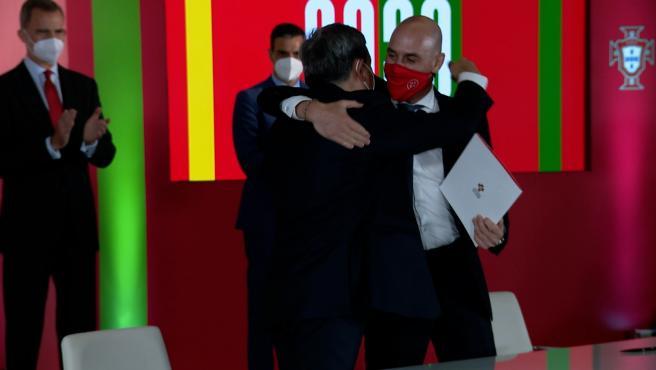 España y Portugal oficializan la candidatura ibérica para el Mundial 2030