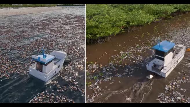 Se calcula que cada año se acumulan 8 millones de tolenadas de residuos plásticos en el océano.