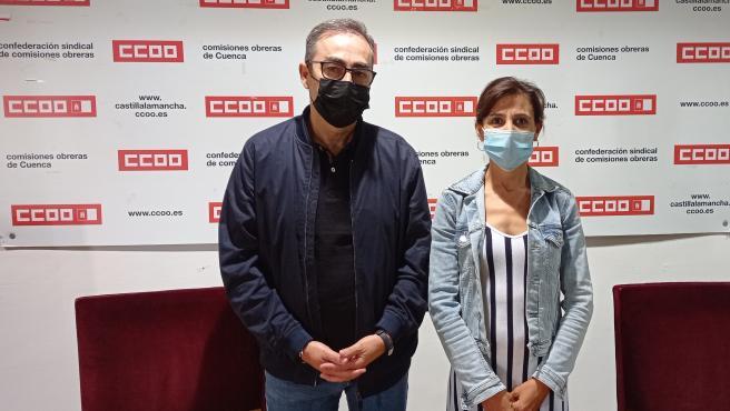 CCOO Cuenca trabaja para tener operativa en septiembre su nueva sede en el número 7 de la calle Segóbriga