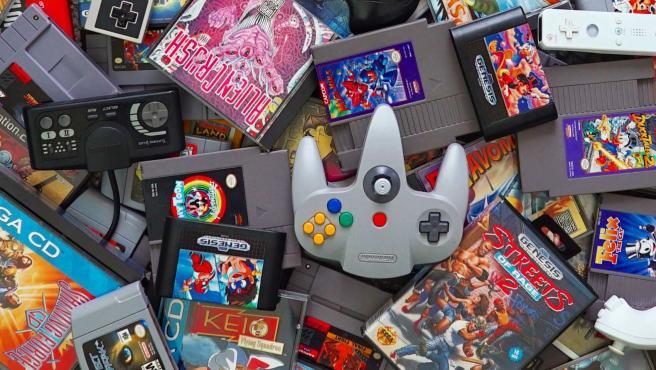 Los videojuegos antiguos nos hacen muy felices y nos recuerdan a nuestra infancia.