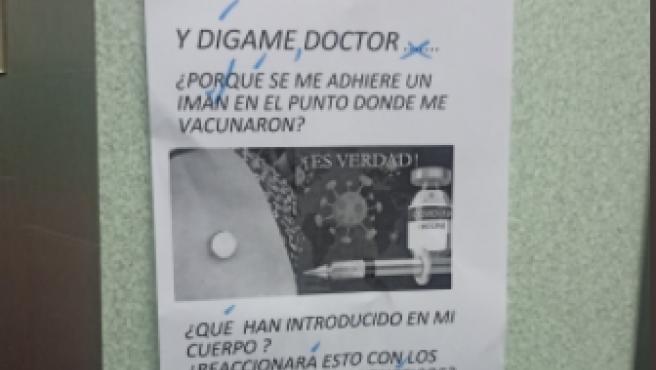 El cartel y la respuesta se han hecho virales en Twitter.