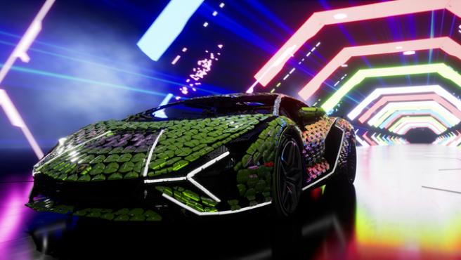 Lego estrena su nueva maqueta a escala real del Lamborghini Sian FKP 37, construido con 400.000 piezas.