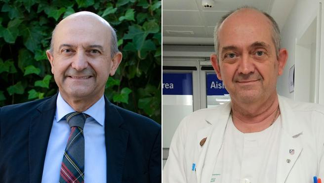 Miguel Ángel (i) y Julio Martínez-González, médicos hermanos autores de 'La Sanidad en llamas'.