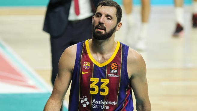 Nikola Mirotic, jugador del Barça.