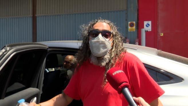 """Primeras palabras de Diego 'El Cigala', tras ser puesto en libertad después de declarar por presunta comisión de un delito de malos tratos continuados. El cantaor de flamenco asegura que el motivo de la denuncia han sido """"los dineros"""". """"Las mujeres siempre quieren dineros"""", ha afirmado."""