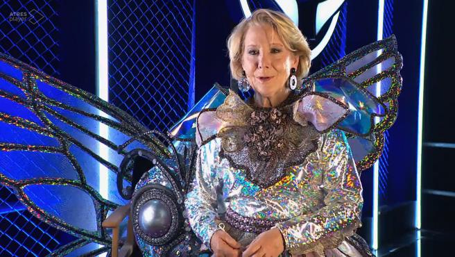 Esperanza Aguirre en 'Mask Singer'.