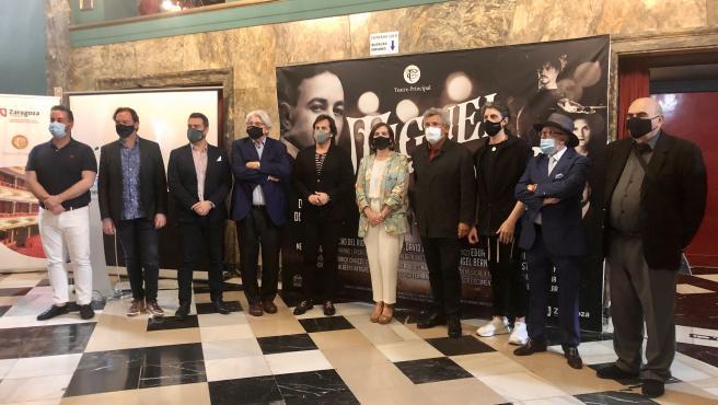 'Gloria y pasión' rinde un merecido homenaje al tenor aragonés Miguel Fleta en el Teatro Principal
