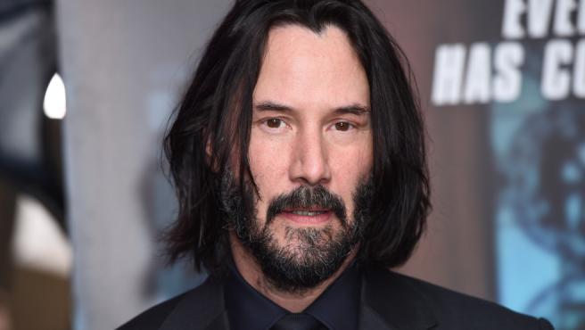 Keanu Reeves en la primicia de 'John Wick 3' en Londres