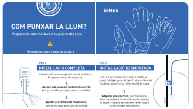 Una imagen del manual de Arran.