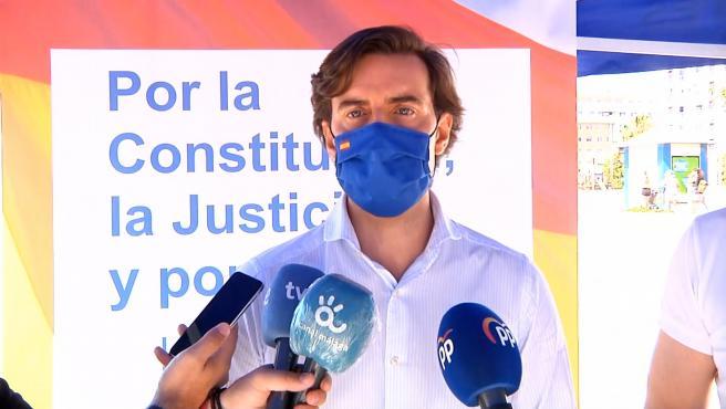 """Montesinos declara que """"no valen peajes políticos"""" a los políticos catalanes"""