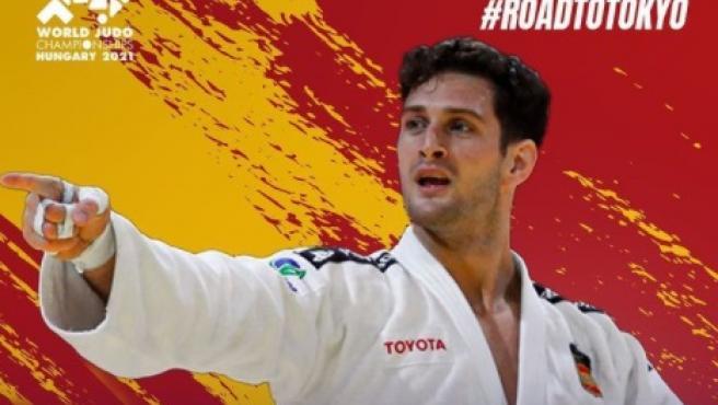 Niko Shera, bicampeón del mundo de judo.