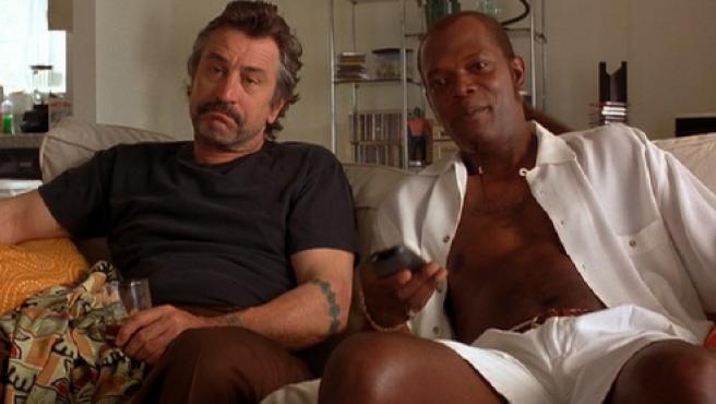 Robert De Niro y Samuel L. Jackson en 'Jackie Brown'