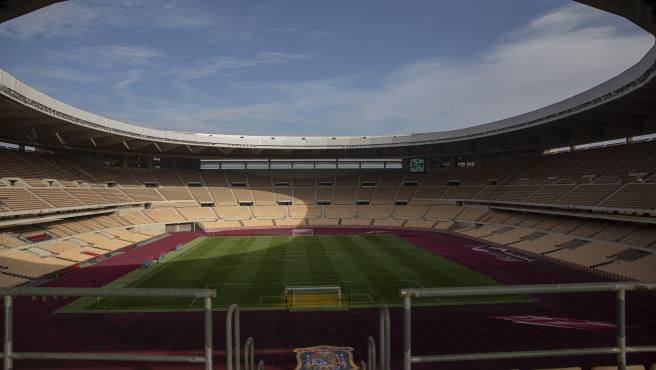 Salud no exigirá test de antígenos o PCR para asistir a los partidos de la Eurocopa en el estadio de La Cartuja