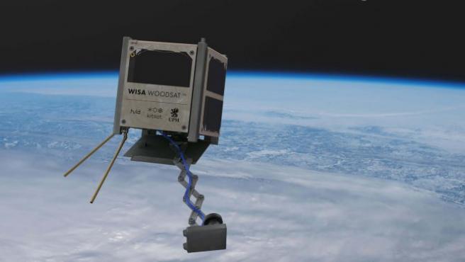 Así es la estructura del satélite.