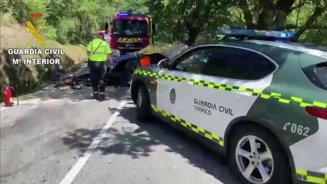 Accidente de Víctor Magariños