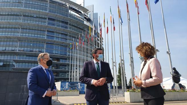 La Comunidad traslada al Parlamento Europeo las necesidades y desafíos a los que se enfrenta el sector primario regional