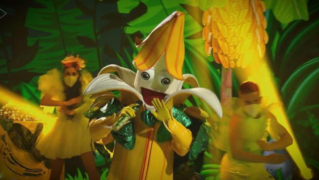 Plátano durante la última gala de 'Mask Singer'.