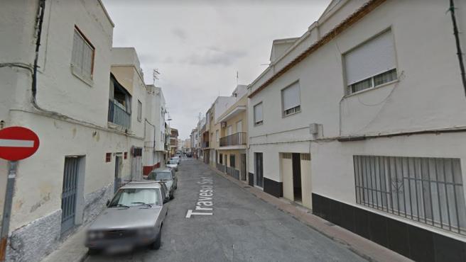 Imagen de la calle Travesía del Santísimo en Motril (Granada).