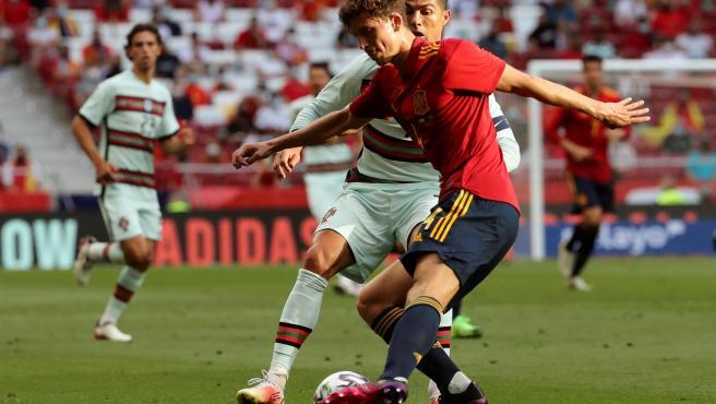 Pau Torres, jugadore de la selección española.