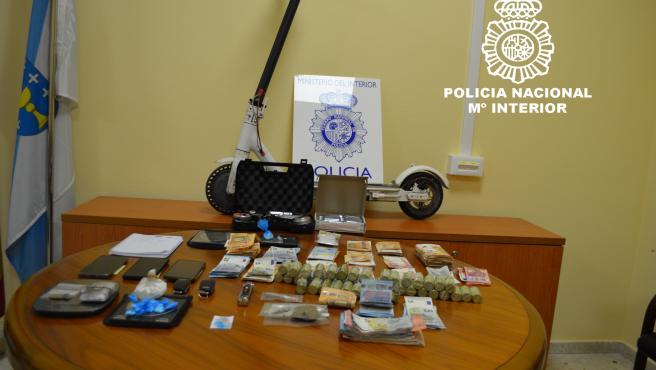 Cinco detenidos de un clan familiar por tráfico de drogas en Ourense a los que interceptaron hachís y cocaína