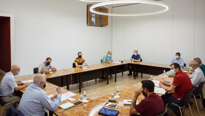 El Gobierno foral constituye la comisión de trabajo para estudiar posibles inversiones compensatorias a la zona de Itoiz