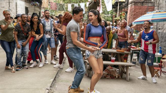 Fotograma de 'En un barrio de Nueva York'