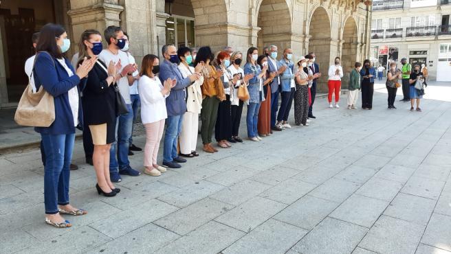 Galicia clama contra los crímenes machistas con concentraciones en todos los municipios