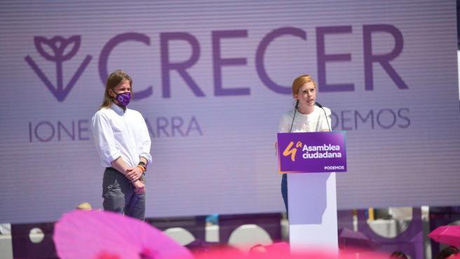 La nueva secretaria de Organización de Podemos, Lilith Verstrynge.