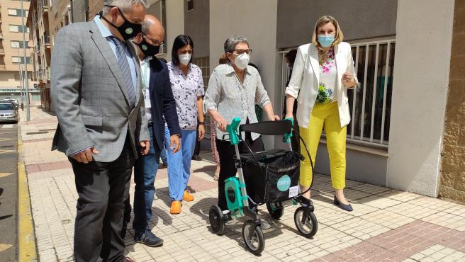 La Junta invertirá 5,4 millones en comprar andadores inteligentes, inodoros adaptados y nueva tecnología sobre movilidad