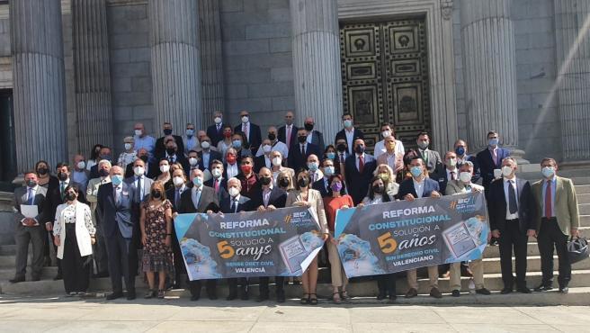 Pérez Garijo insta al Congreso a iniciar la reforma urgente de la Constitución para recuperar el Derecho Civil