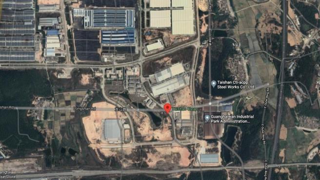 Planta de energía nuclear china de Taishan
