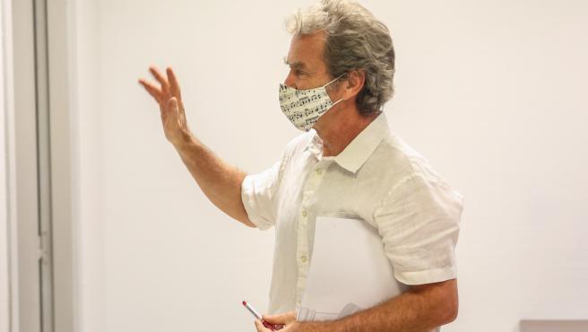 Fernando Simón analiza los últimos datos de coronavirus.