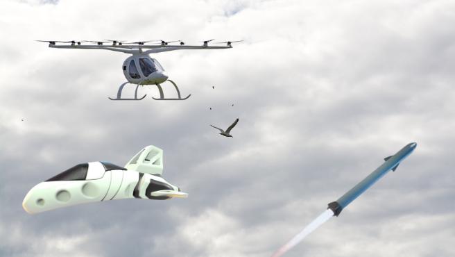 eVTOL, coches voladores, naves supersónicas... el cielo dentro de una década podría ser nuestras nuevas autopistas.