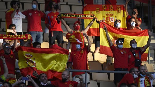 Afición de la selección española