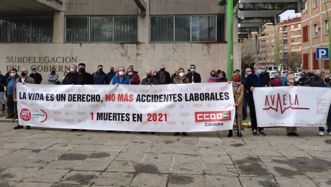 CCOO lamenta el fallecimiento en accidente laboral de un trabajador en Cabra