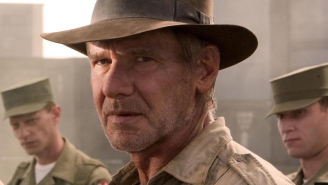 Harrison Ford en 'Indiana Jones y el reino de la calavera de cristal'