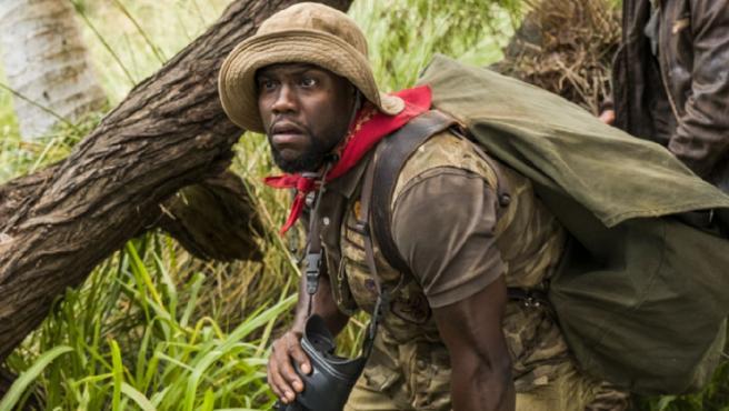 Kevin Hart en 'Jumanji: Bienvenidos a la jungla'