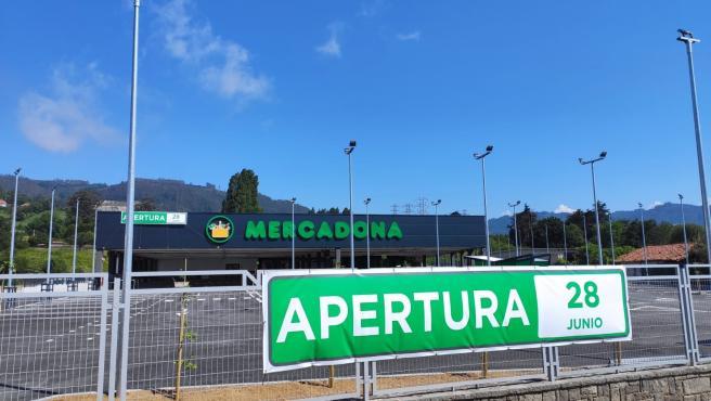 Mercadona abrirá su nuevo centro en Villaviciosa el 28 de junio