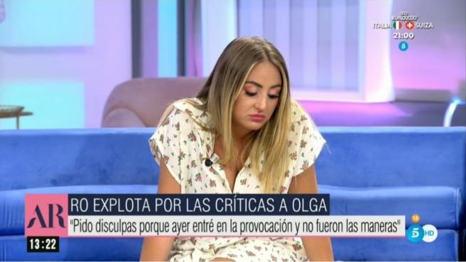 Rocío Flores, colaboradora de 'El programa de Ana Rosa'.