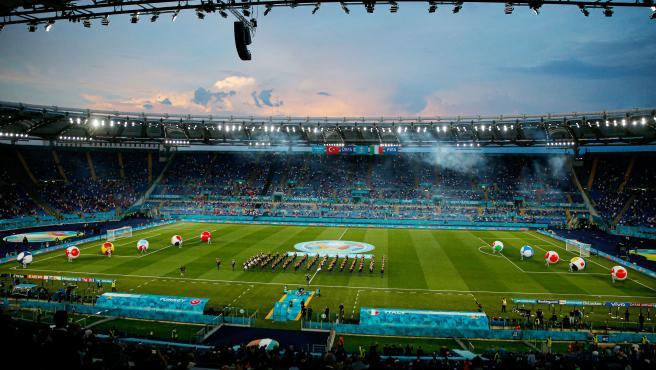 Estadio Olímpico de Roma, durante la Eurocopa