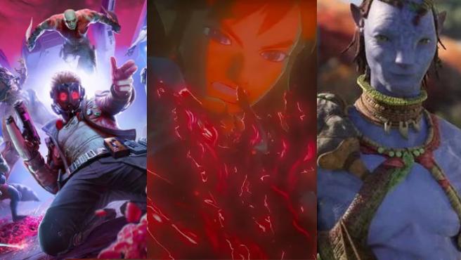 Imágenes de los nuevos juegos de 'Guardianes de la Galaxia', 'Zelda' y 'Avatar'.