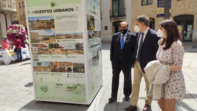 La exposición sobre los proyectos de 'Edusi Tormes+' comienza a recorrer los barrios de Salamanca