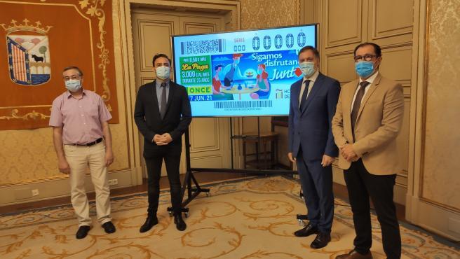 La ONCE dedica el cupón de mañana a la hostelería en un homenaje por la situación que vive por la pandemia