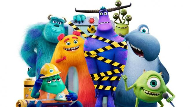 Imagen promocional de 'Monstruos a la obra'