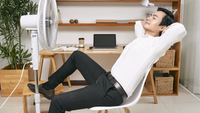 El aire frío nos ayuda a sobrellevar las altas temperaturas.