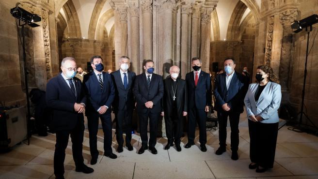 Culmina la restauración de la cripta del Pórtico de la Gloria y de la Escalinata de la Catedral de Santiago
