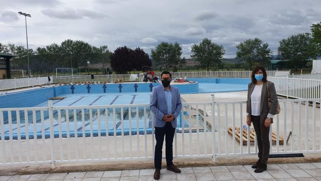 Mendavia dispone de una piscina de recreo renovada y adaptada a las normas higiénico sanitarias y de seguridad